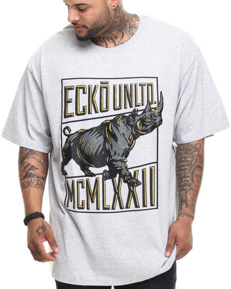 Ecko - Men Grey Walk Tall T-Shirt (B&T) - $29.99