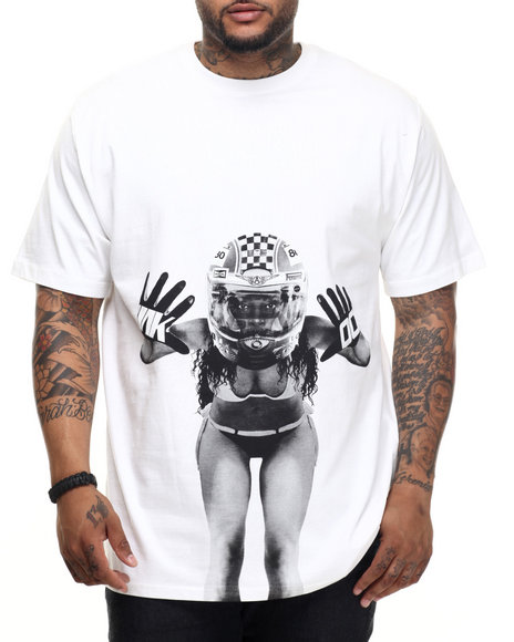 AKOO - Men White Glove Tee