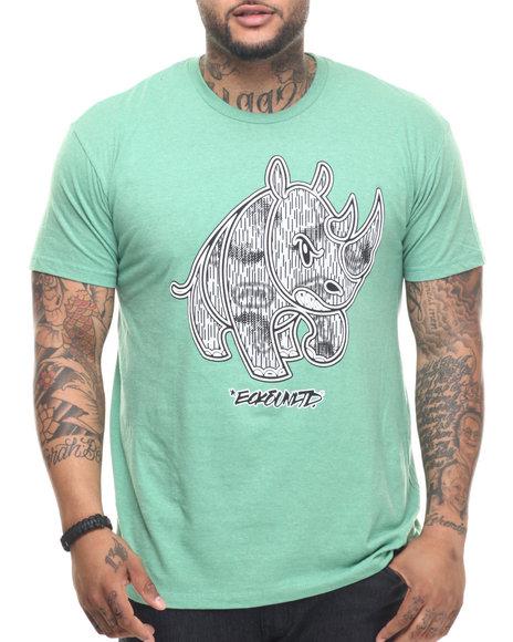 Ecko - Men Green Rain Camo T-Shirt