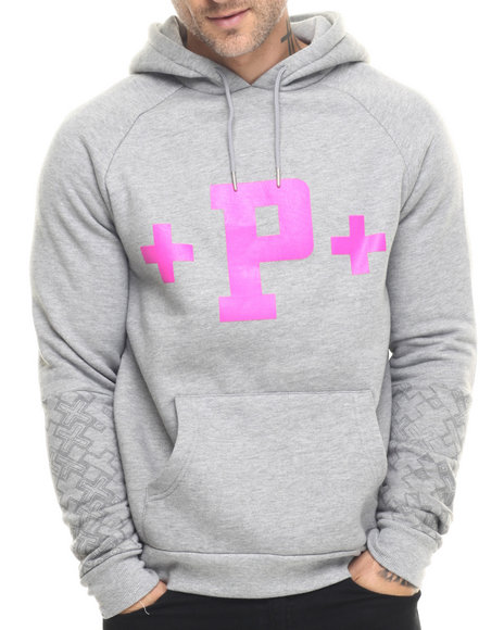 Pink Dolphin Grey Hoodies