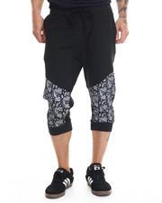 Shorts - Paisley Print Jogger Short