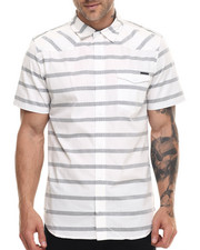 Ecko - STRIPED S/S BUTTON DOWN