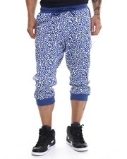 Men - Geo Printed Jogger Shorts