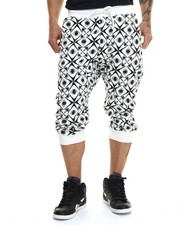 Shorts - Kaleidoscope Printed Jogger Shorts