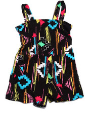 Sizes 4-6x - Kids - AZTEC ROMPER (4-6X)