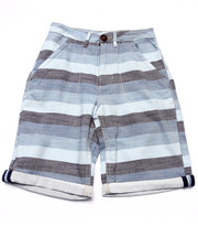 Shorts - CHAMBRAY STRIPED SHORT (8-20)