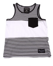 Boys - STRIPED POCKET TANK (8-20)