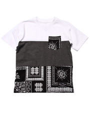 Boys - BANDANA POCKET TEE (8-20)