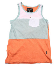 Boys - COLOR BLOCK TANK (8-20)