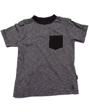 Boys - SLUB POCKET TEE (8-20)