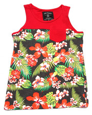 Boys - COLOR BLOCK TROPICAL TANK (8-20)
