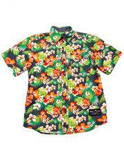 Button-downs - S/S TROPICAL WOVEN (8-20)