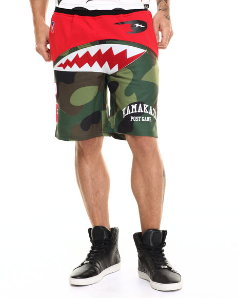 Post Game - Men Camo Kamakazi Camo Basketball Shorts