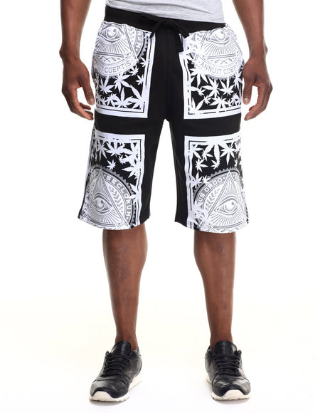Buyers Picks - Men Black Holy High Shorts