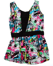 Girls - GRAFFITI ROMPER (4-6X)