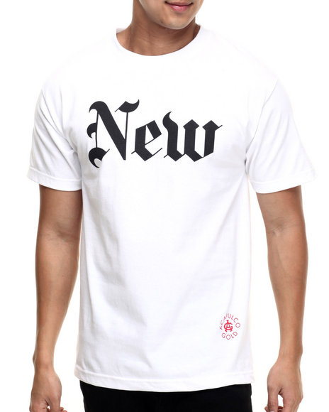 Ur-ID 218779 Acapulco Gold - Men White New (York Times) Tee