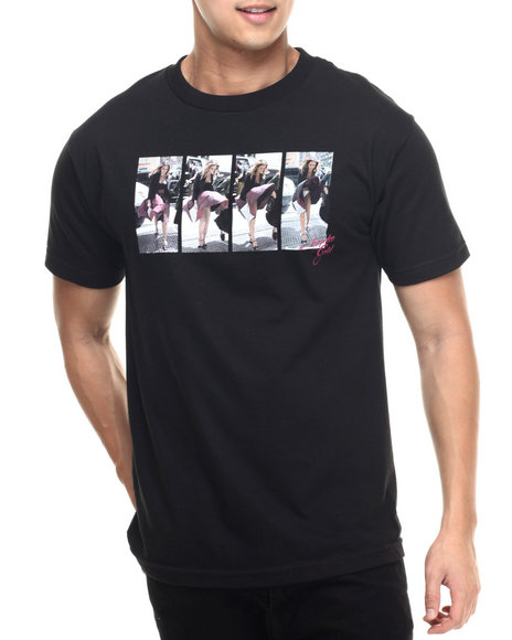 Ur-ID 218782 Acapulco Gold - Men Black Jessica Tee