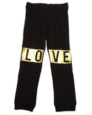 La Galleria - LOVE KNEE PATCH JOGGERS (7-16)