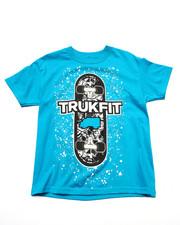 Tops - TRUKFIT SKATE DECK TEE (8-20)