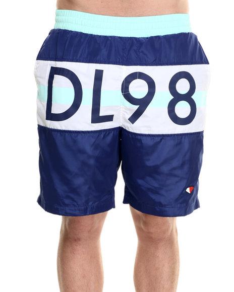 Ur-ID 218835 Diamond Supply Co - Men Navy Dylc Nylon Shorts