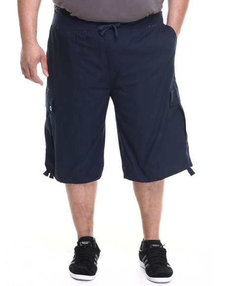 Enyce - Men Navy Yosemite Belted Ripstop Short (B&T)