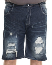 Shorts - Wash Denim Shorts (B&T)