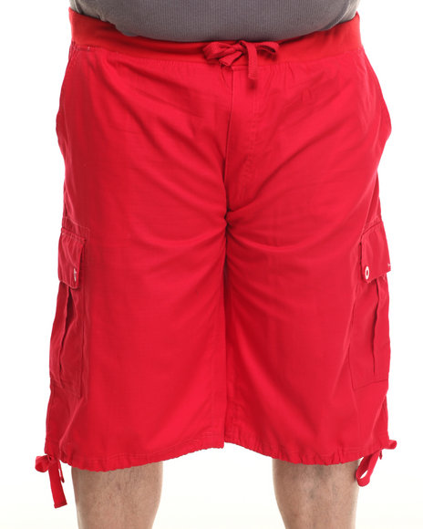Enyce - Men Red Yosemite Belted Ripstop Short (B&T) - $31.99