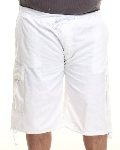 Enyce - Men White Yosemite Belted Ripstop Short (B&T)