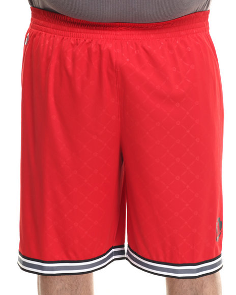 Ur-ID 223235 Adidas - Men Red D Rose Everything Shorts (B&T)