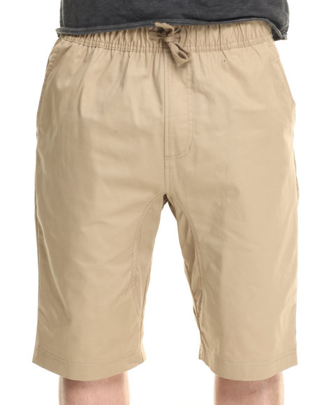 Buyers Picks - Men Khaki Khaki Camo Twill Shorts