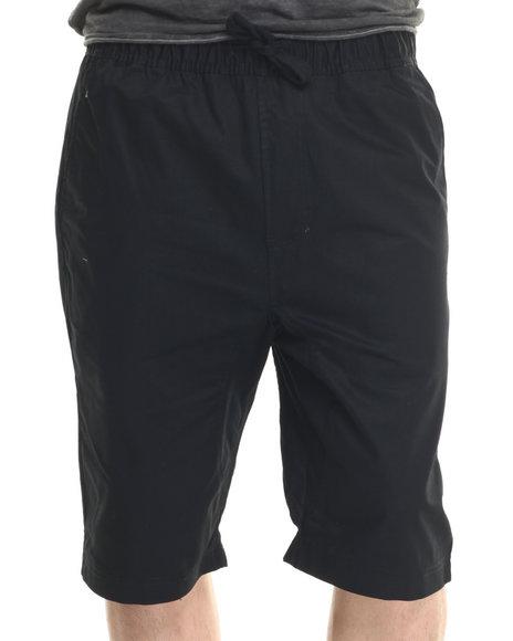 Ur-ID 218801 Buyers Picks - Men Black Twill Shorts