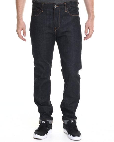 Ur-ID 218844 Diamond Supply Co - Men Dark Wash Diamond Mined Denim Slim Fit Jeans