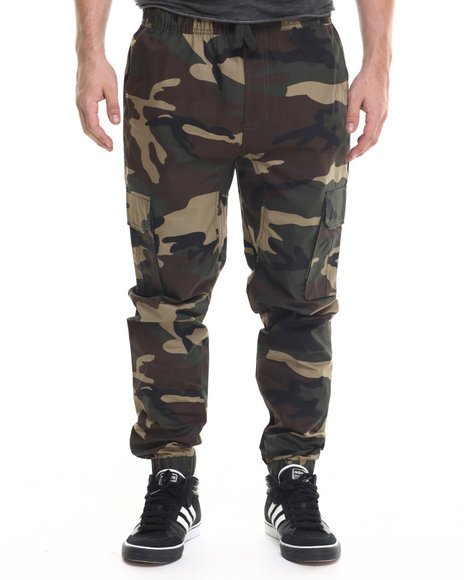 Buyers Picks - Men Camo Camo Twill Jogger Pants