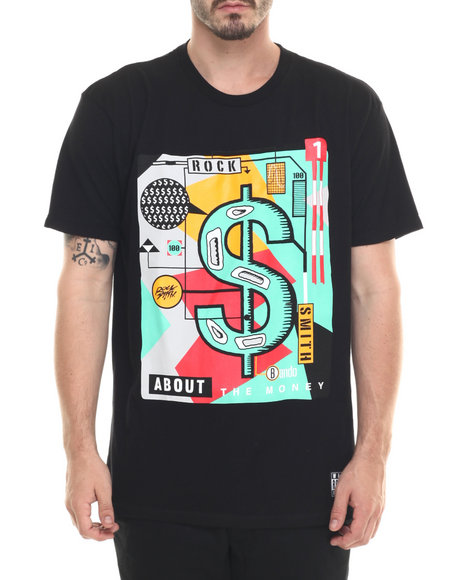 Rocksmith - Men Black About $ T-Shirt