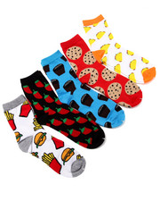 Girls - Hollywood Junk Food 5Pk Crew Socks