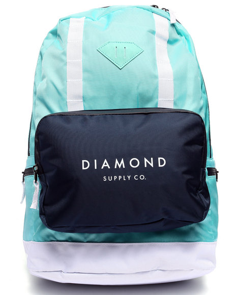 Diamond Supply Co Men Dlyc Backpack Teal - $85.00