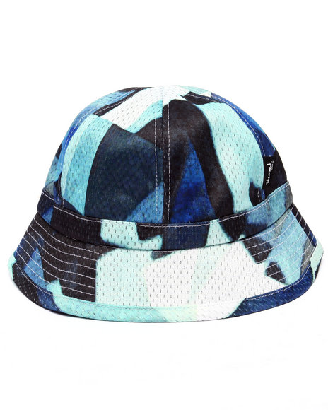 Ur-ID 218825 Diamond Supply Co - Men Blue Simplicity Sublimated Mesh Bucket Hat