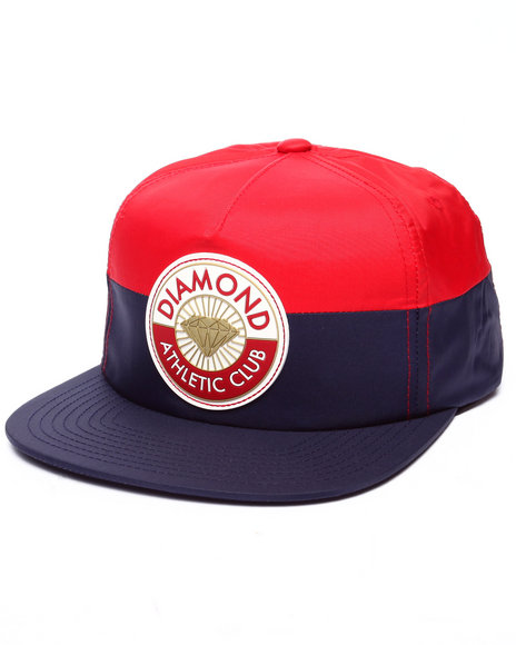 Diamond Supply Co Men Athletic Club Snapback Cap Red - $33.99