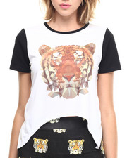 Tees - Tiger Cropped Tee