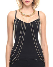 Women - Body Chain Drape Necklace