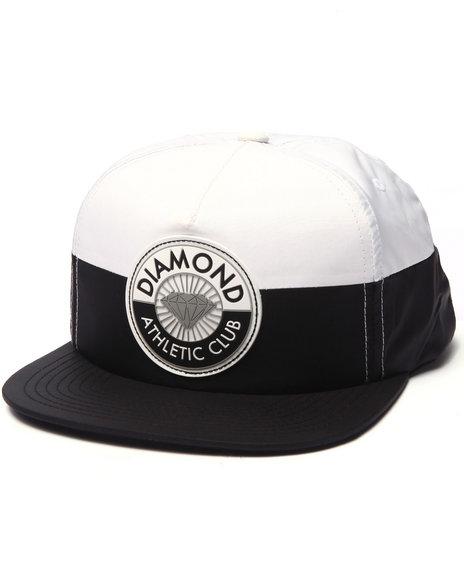 Ur-ID 223243 Diamond Supply Co - Men Black Athletic Club Snapback Cap
