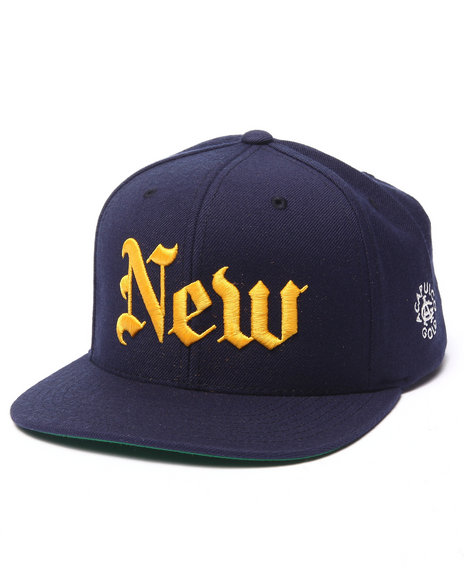 Acapulco Gold - Men Navy New (York Times) Snapback Cap