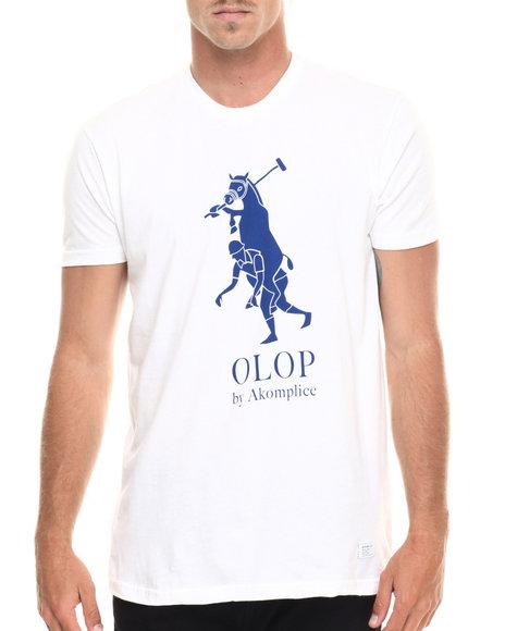 Ur-ID 218892 Akomplice - Men White Olop Logo Tee