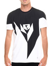 Shirts - Black Geometry Tee