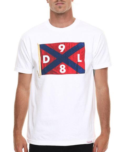 Ur-ID 218911 Diamond Supply Co - Men White Dl98 Flag Tee