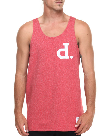 Diamond Supply Co - Men Red Un Polo Tank