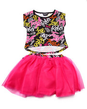 Sizes 4-6x - Kids - 2 PC TRUKFIT TUTU SET (4-6X)