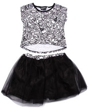 Girls - 2 PC TRUKFIT TUTU SET (4-6X)