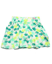 Girls - TROPICAL PALM SKIRT (7-16)