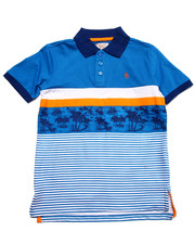 Tops - PALM TREE POLO (8-20)